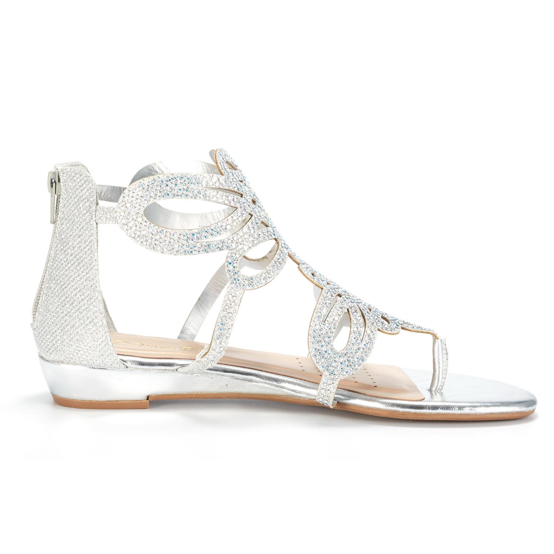 bf099289563 DREAM PAIRS Women Jewel New Low Heel Rhinestones Design Ankle Strap ...