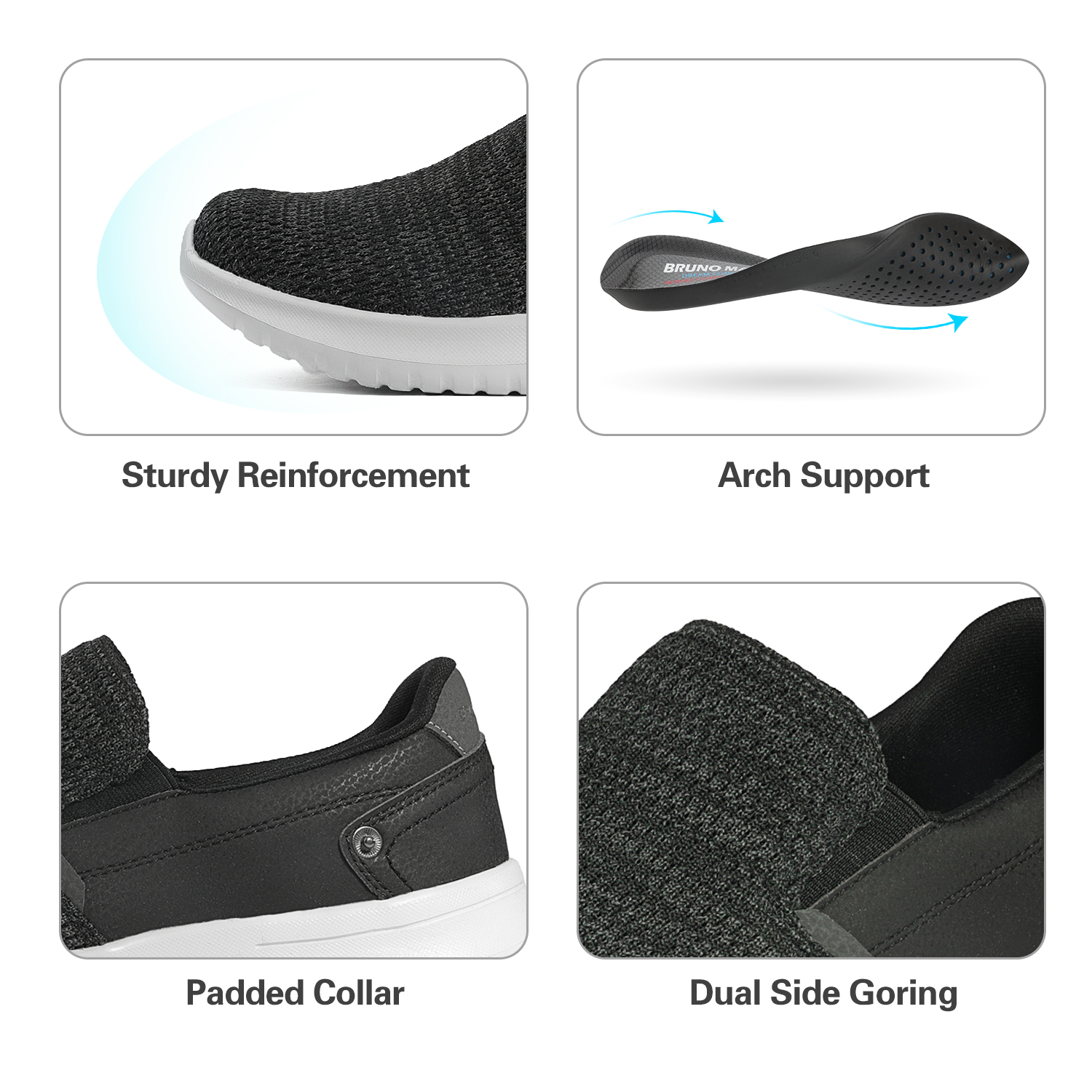 2019-Mens-Casual-Breathable-Sneakers-Running-Sports-Athletic-Shoes-Walking-Slip thumbnail 11
