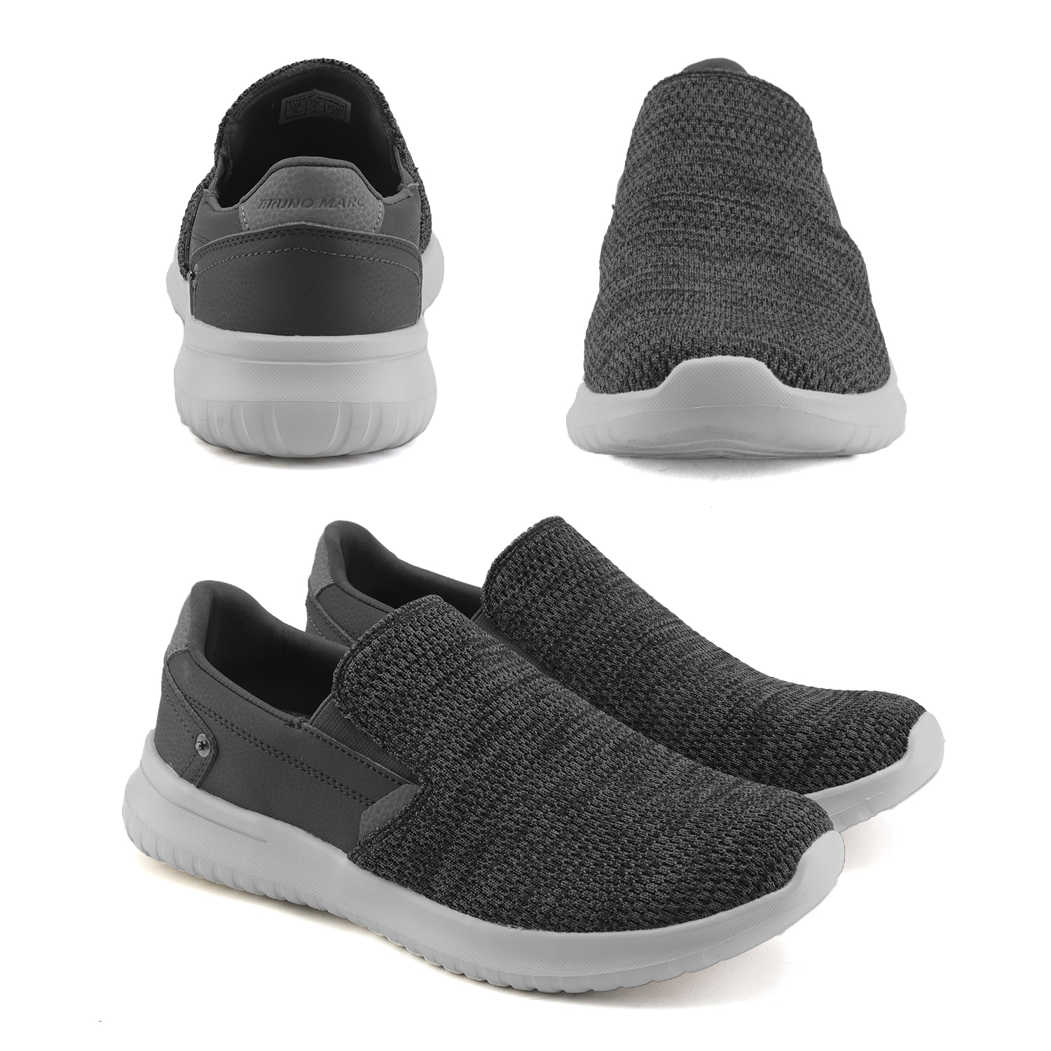Bruno-Marc-Men-039-s-Slip-On-Walking-Shoes-Men-039-s-Sneakers-Men-Shoe-Running-Casual thumbnail 13