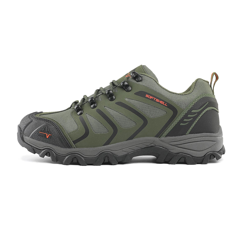 US Men/'s Low Top Waterproof Hiking Boots Outdoor Lightweight Trekker Work Shoes