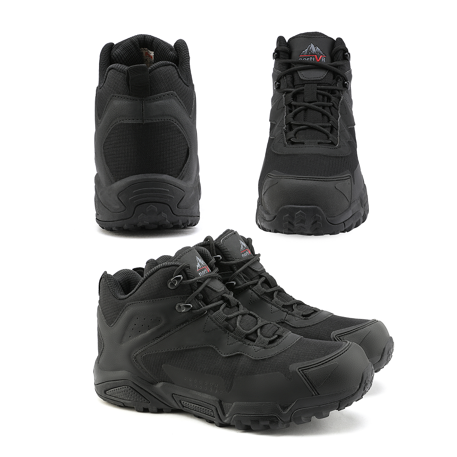 NORTIV-8-Men-039-s-Ankle-Waterproof-Hiking-Boots-Lightweight-Backpacking-Work-Shoes thumbnail 26