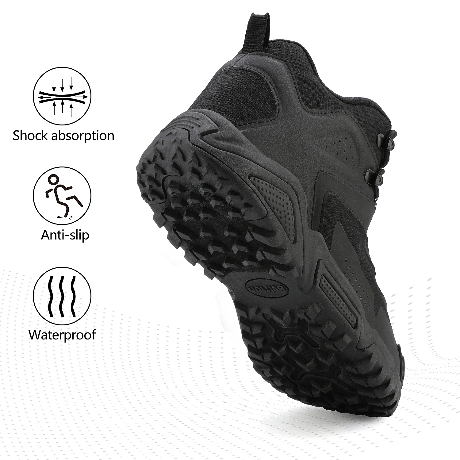NORTIV-8-Men-039-s-Ankle-Waterproof-Hiking-Boots-Lightweight-Backpacking-Work-Shoes thumbnail 25