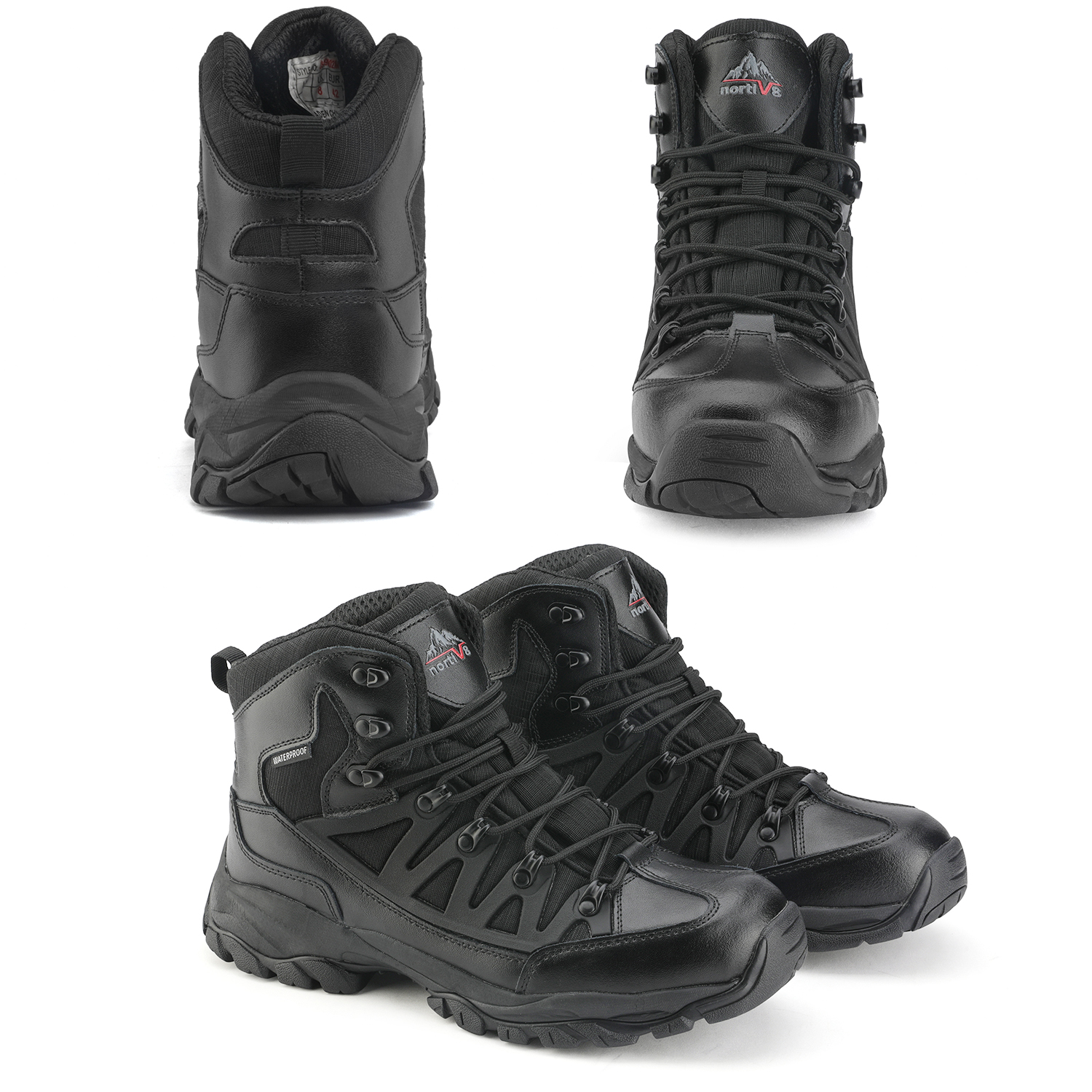 NORTIV-8-Men-039-s-Ankle-Waterproof-Hiking-Boots-Lightweight-Backpacking-Work-Shoes thumbnail 33