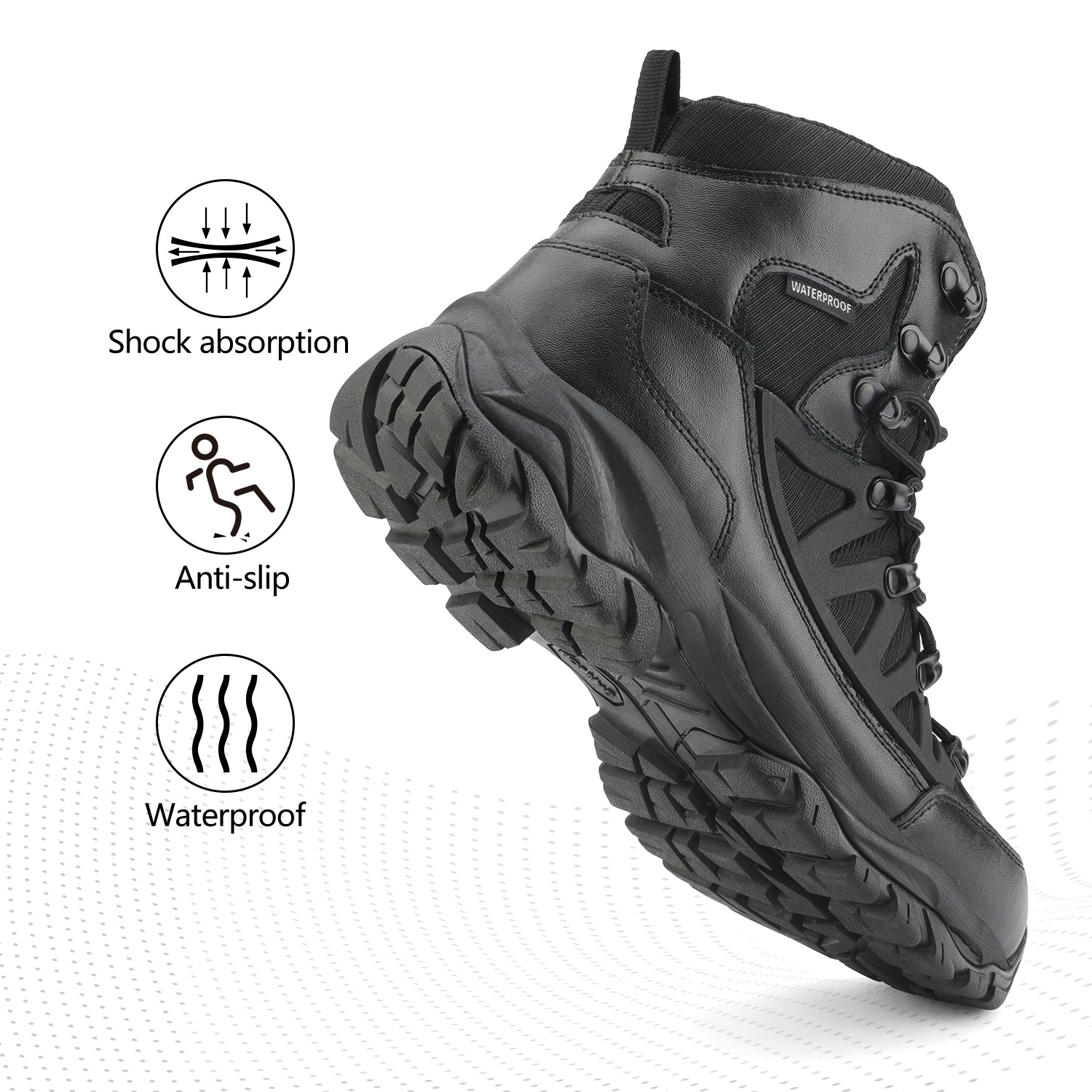 NORTIV-8-Men-039-s-Ankle-Waterproof-Hiking-Boots-Lightweight-Backpacking-Work-Shoes thumbnail 32