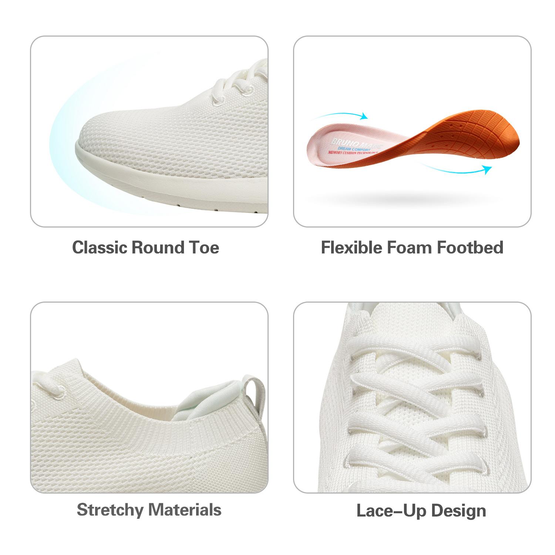 Bruno-Marc-Mens-Black-Slip-On-Walking-Shoes-Breathable-Fashion-Sneakers-6-5-13 thumbnail 9