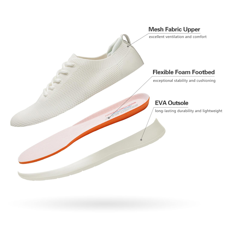 Bruno-Marc-Mens-Black-Slip-On-Walking-Shoes-Breathable-Fashion-Sneakers-6-5-13 thumbnail 11