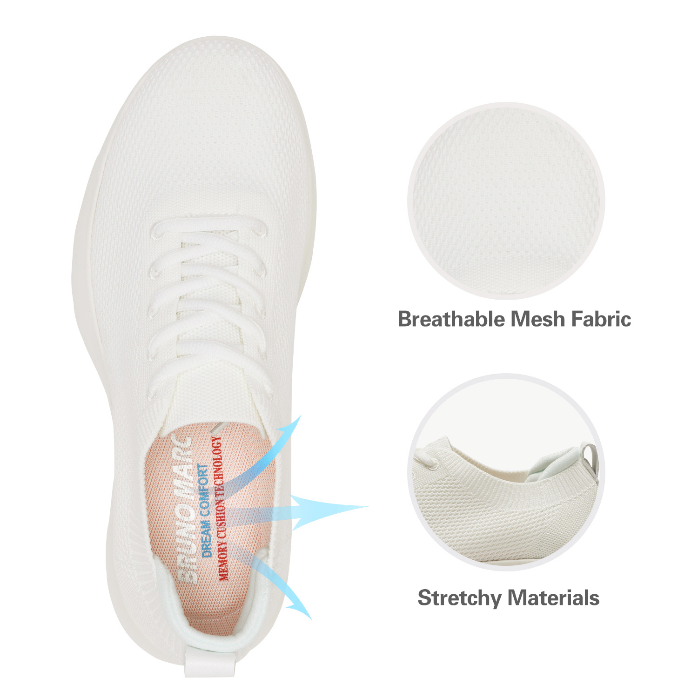 Bruno-Marc-Mens-Black-Slip-On-Walking-Shoes-Breathable-Fashion-Sneakers-6-5-13 thumbnail 22