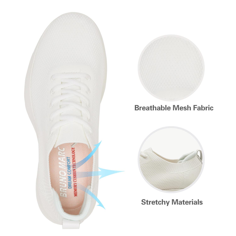 Bruno-Marc-Mens-Black-Slip-On-Walking-Shoes-Breathable-Fashion-Sneakers-6-5-13 thumbnail 34