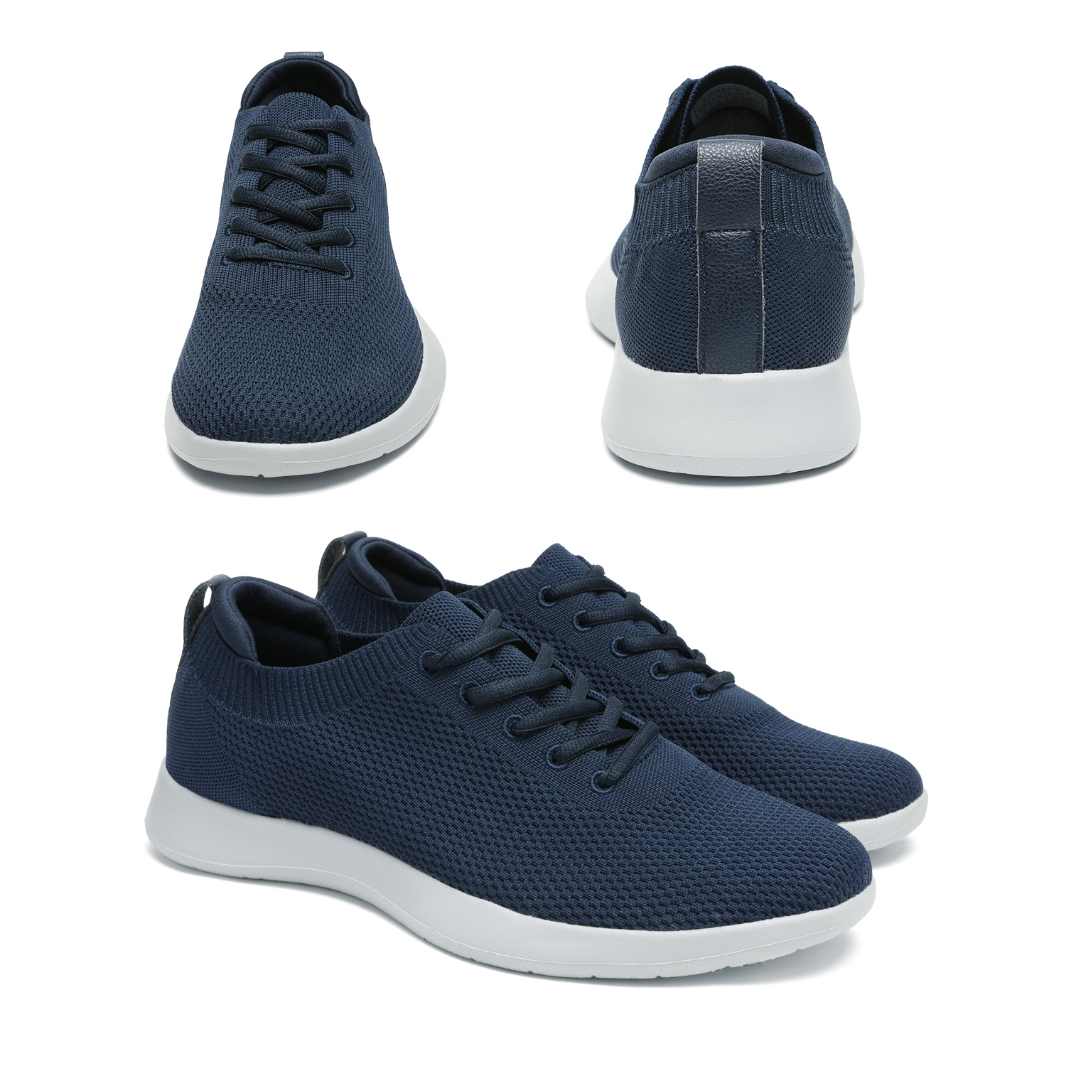 thumbnail 25 - Bruno Marc Mens Walking Shoes Breathable Fashion Sneaker Casual Shoe Size 6.5-13