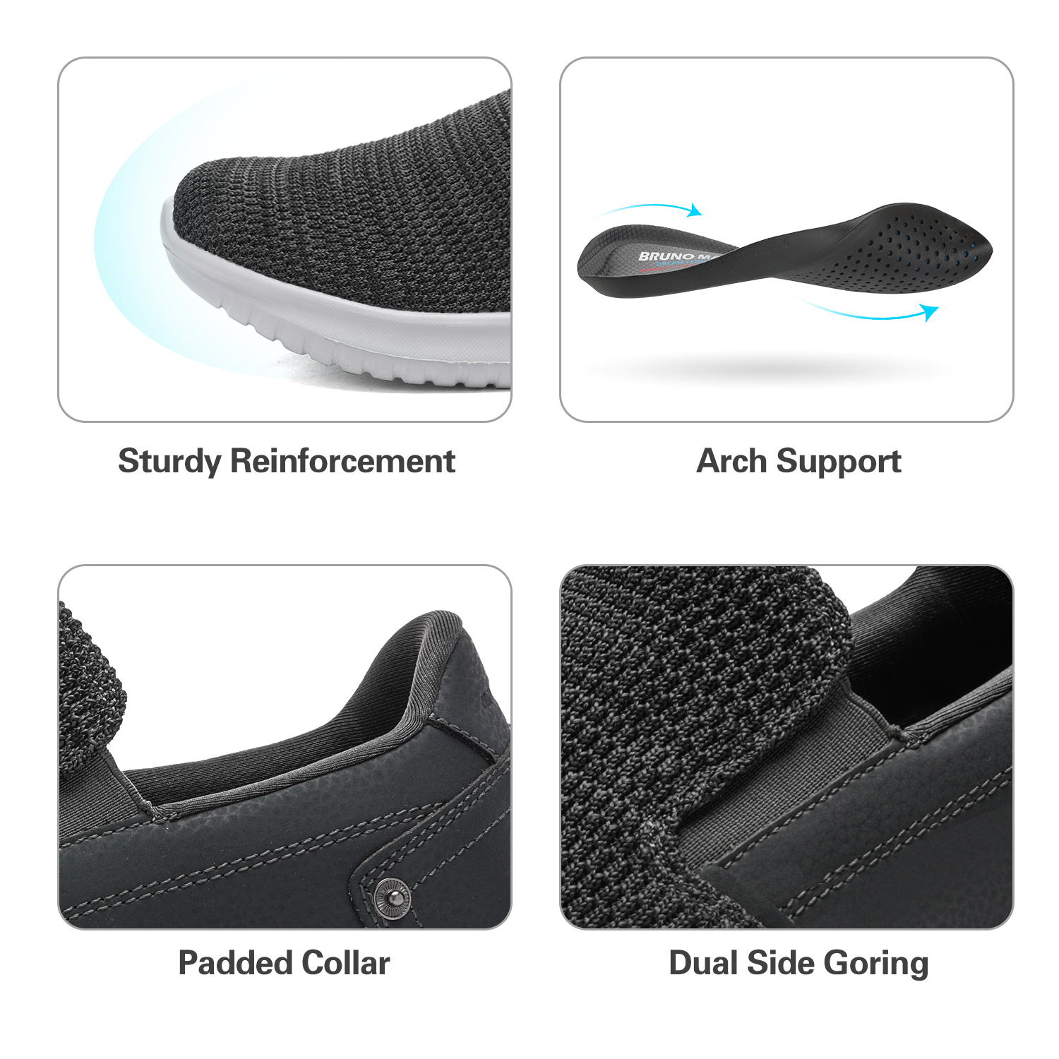 2019-Mens-Casual-Breathable-Sneakers-Running-Sports-Athletic-Shoes-Walking-Slip thumbnail 35