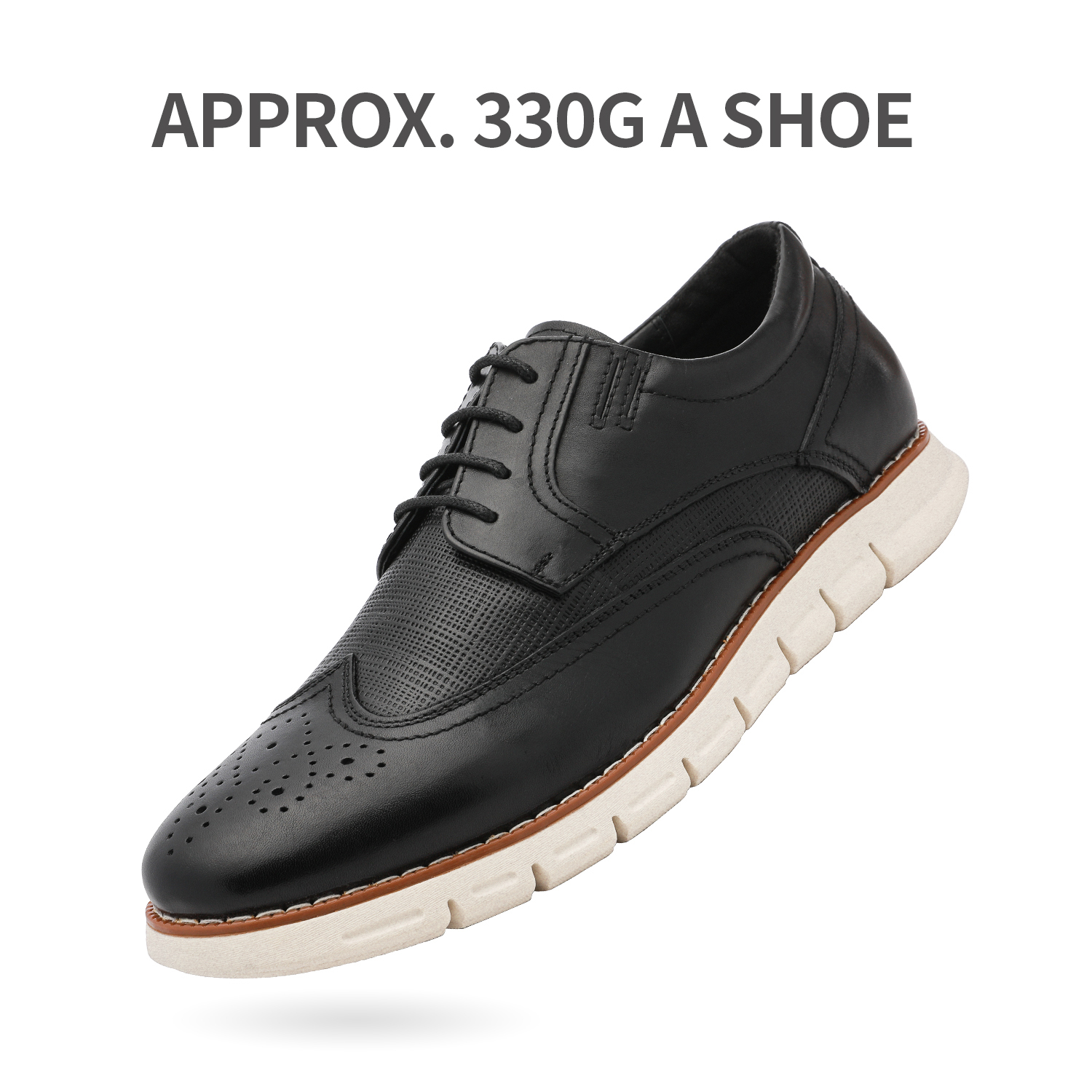 Men-s-Genuine-Leather-Casual-Formal-Sneakers-Lace-up-Business-Oxford-Dress-Shoes thumbnail 9