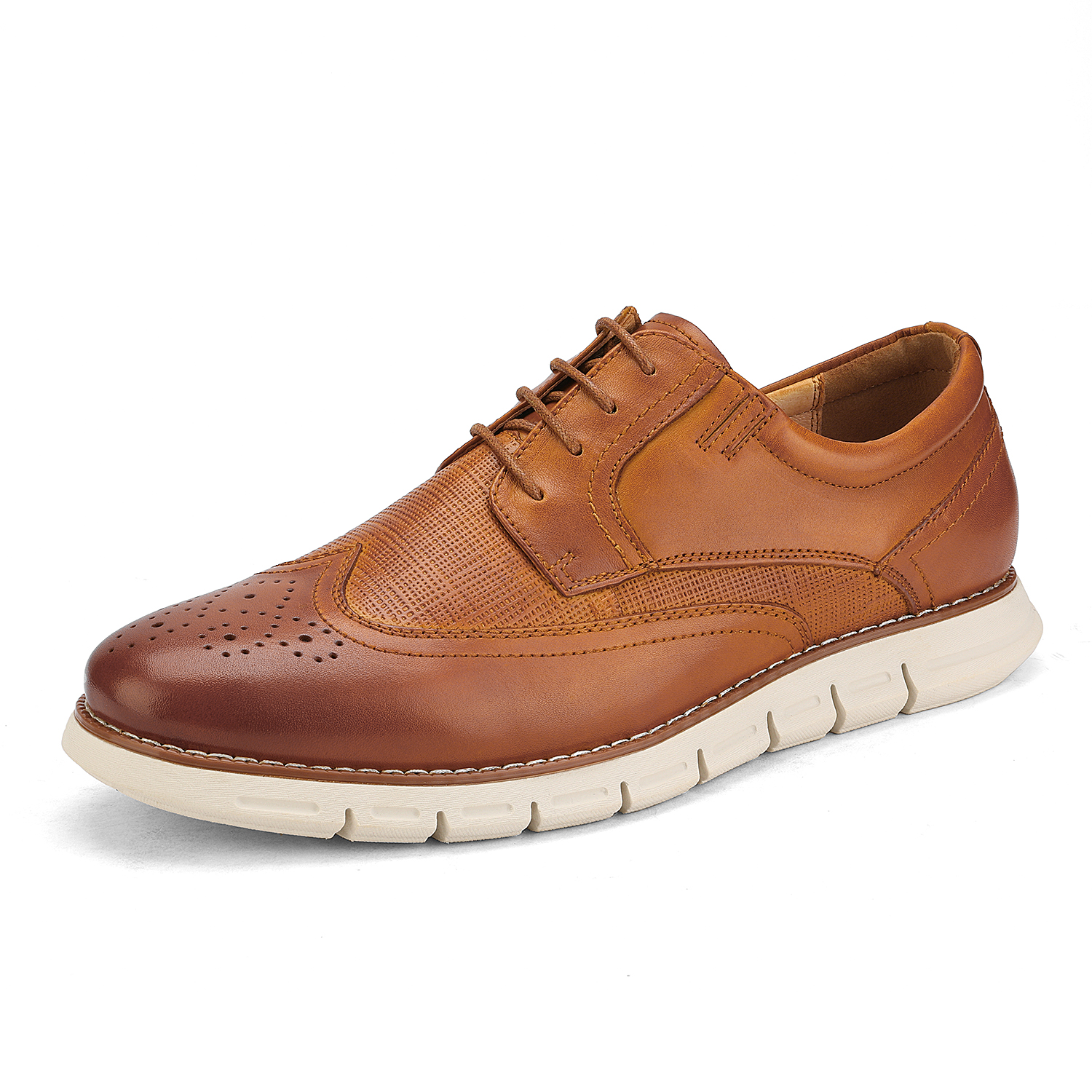 Men-s-Genuine-Leather-Casual-Formal-Sneakers-Lace-up-Business-Oxford-Dress-Shoes thumbnail 22