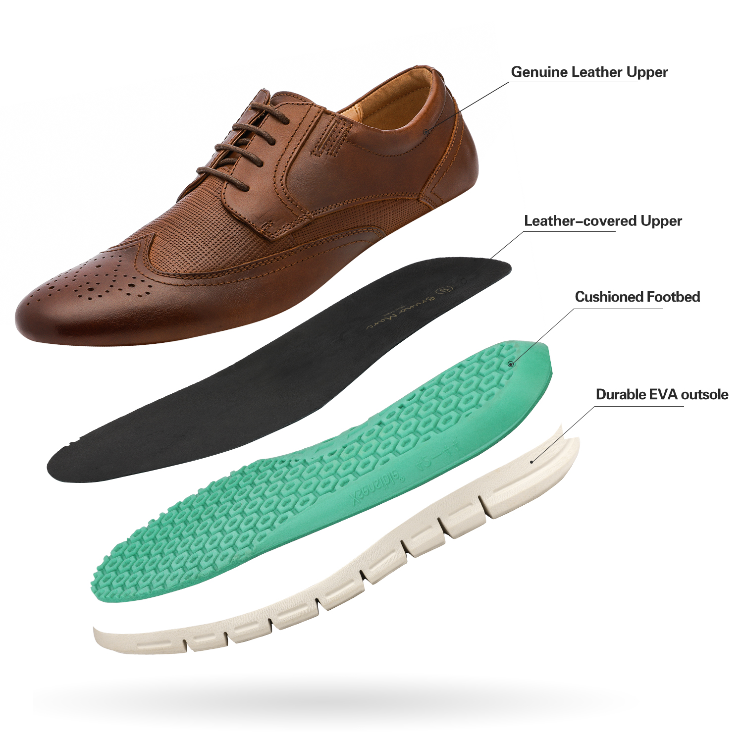 Men-s-Genuine-Leather-Casual-Formal-Sneakers-Lace-up-Business-Oxford-Dress-Shoes thumbnail 30