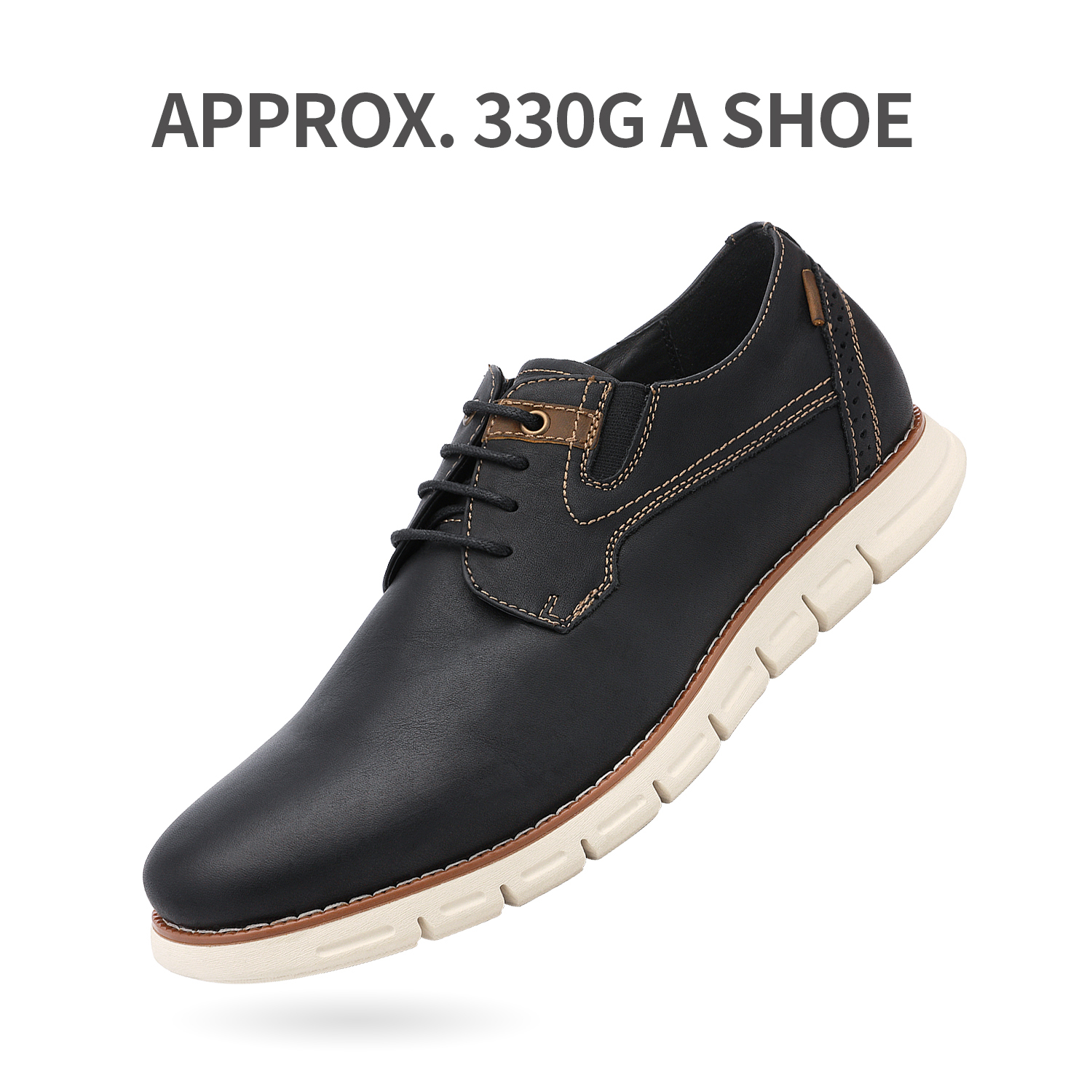 Men-s-Genuine-Leather-Casual-Formal-Sneakers-Lace-up-Business-Oxford-Dress-Shoes thumbnail 34