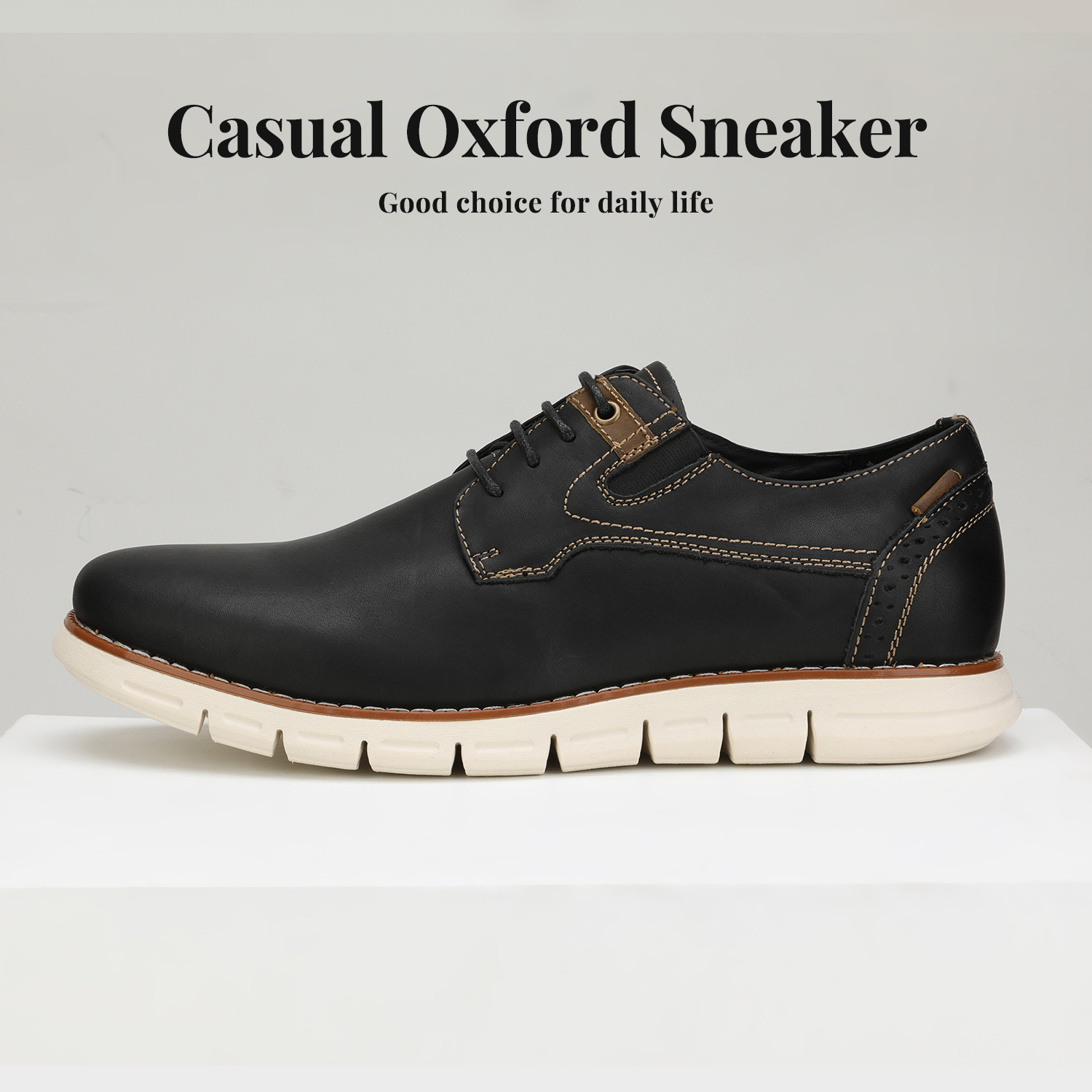 Men-s-Genuine-Leather-Casual-Formal-Sneakers-Lace-up-Business-Oxford-Dress-Shoes thumbnail 38
