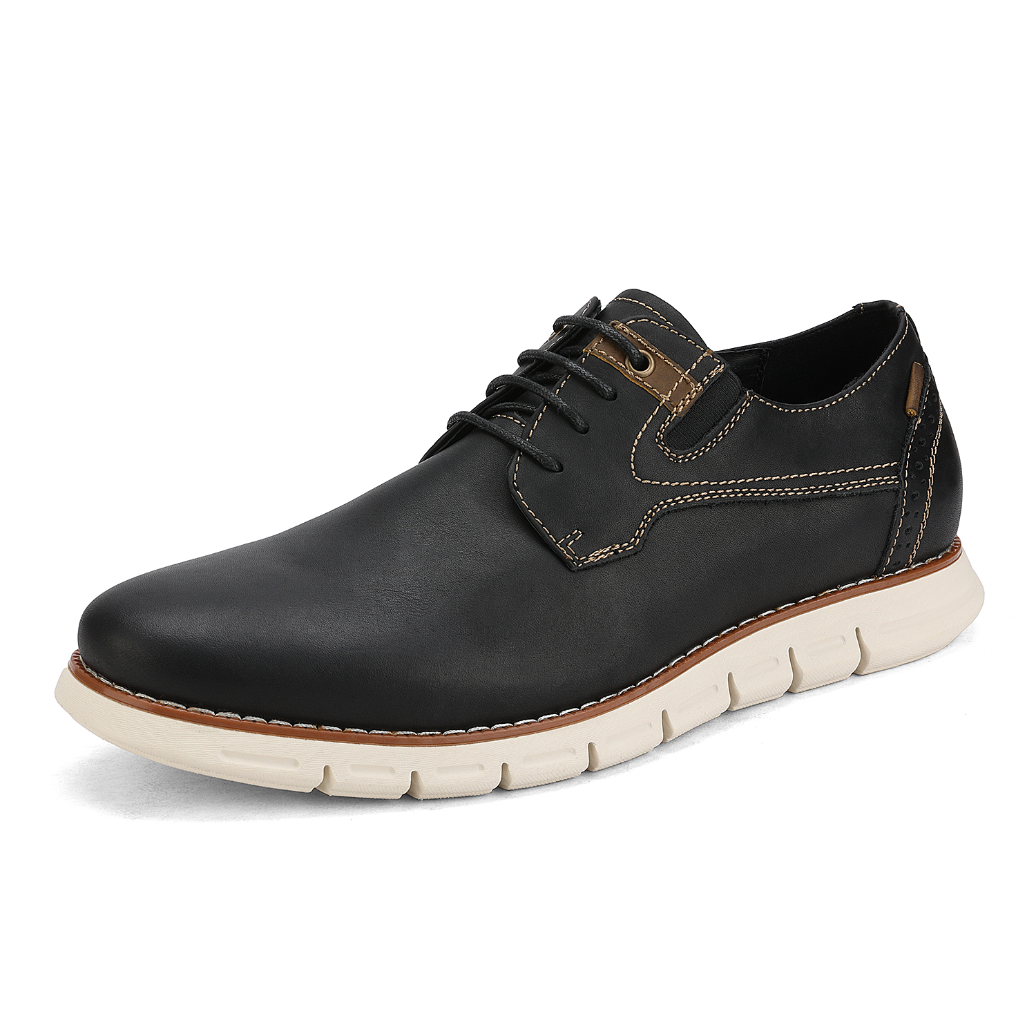 Men-s-Genuine-Leather-Casual-Formal-Sneakers-Lace-up-Business-Oxford-Dress-Shoes thumbnail 37