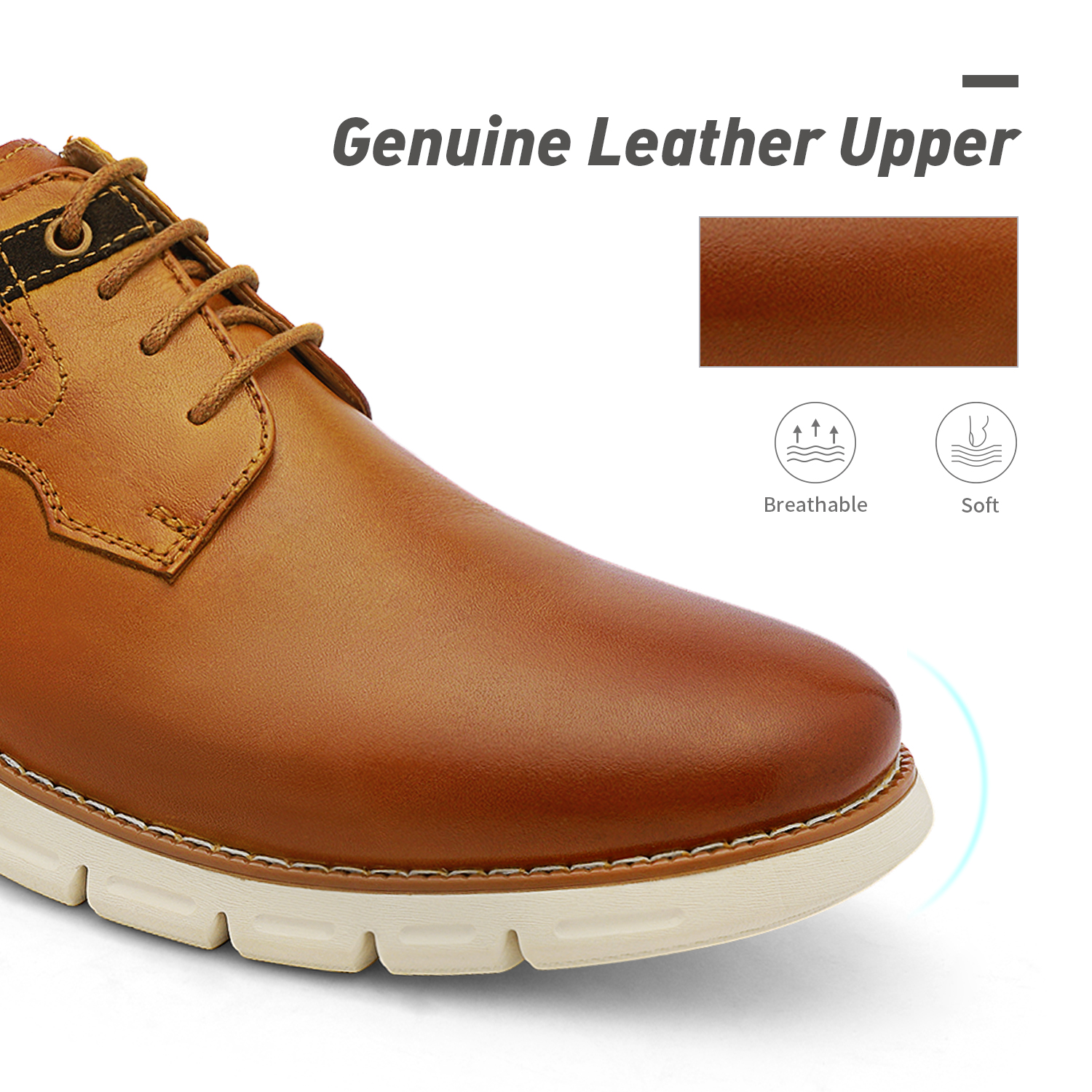 Men-s-Genuine-Leather-Casual-Formal-Sneakers-Lace-up-Business-Oxford-Dress-Shoes thumbnail 43