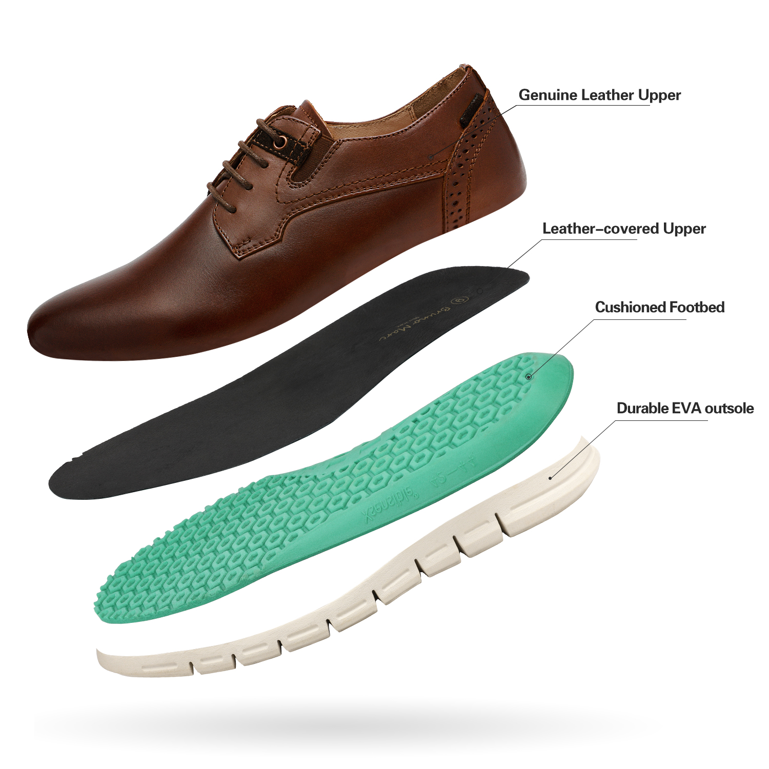 Men-s-Genuine-Leather-Casual-Formal-Sneakers-Lace-up-Business-Oxford-Dress-Shoes thumbnail 50