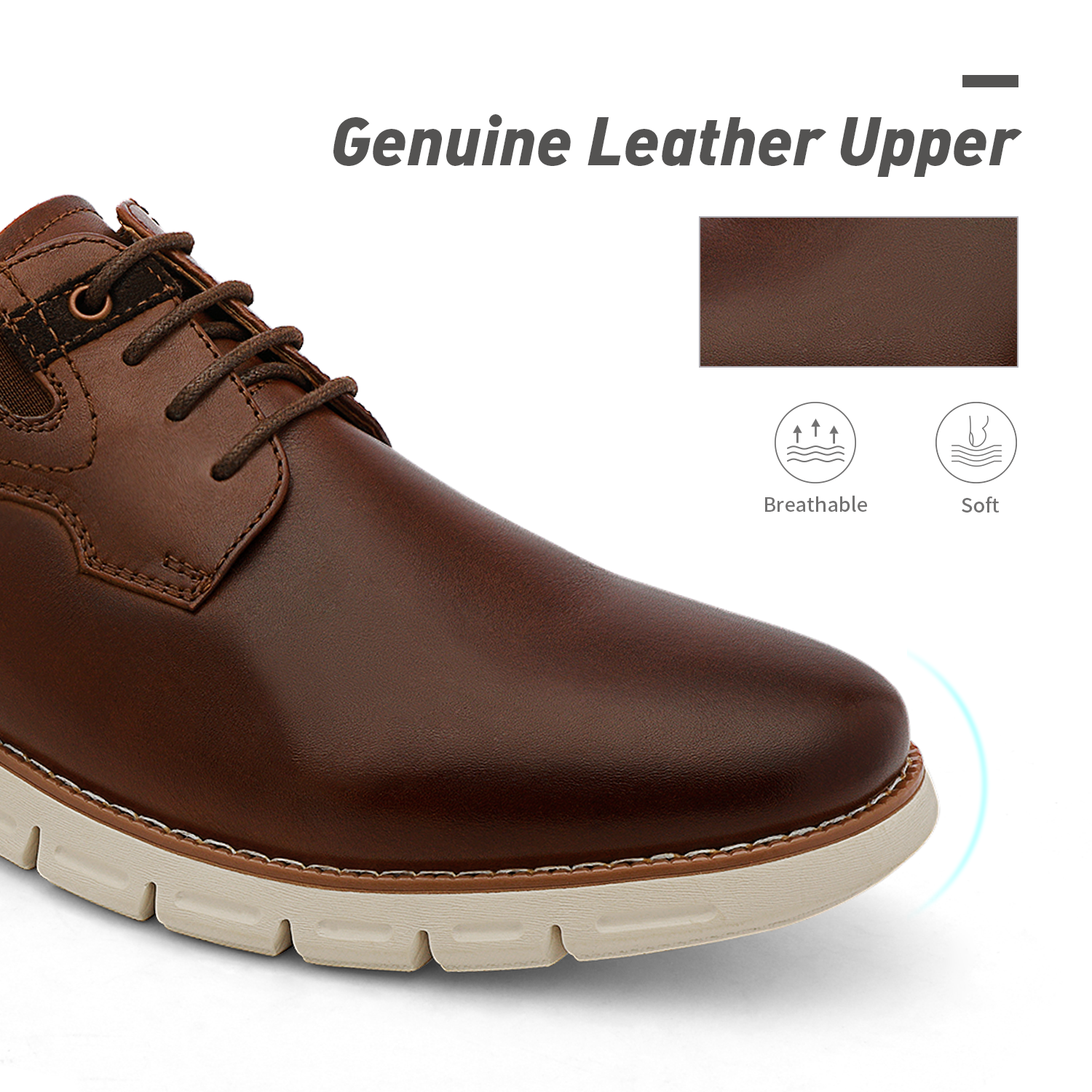 Men-s-Genuine-Leather-Casual-Formal-Sneakers-Lace-up-Business-Oxford-Dress-Shoes thumbnail 48