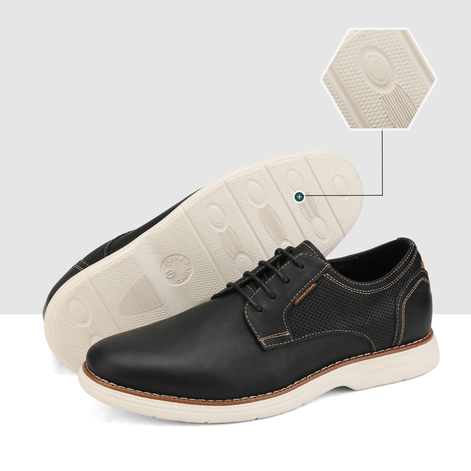 Mens-Fashion-Genuine-Leather-Business-Dress-Sneakers-Casual-Lace-up-Oxford-Shoe thumbnail 10