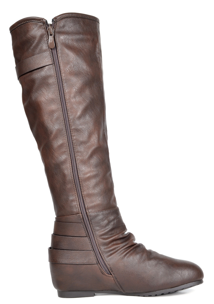 Dream Pairs Women S Knee High Wedge Winter Riding Boots