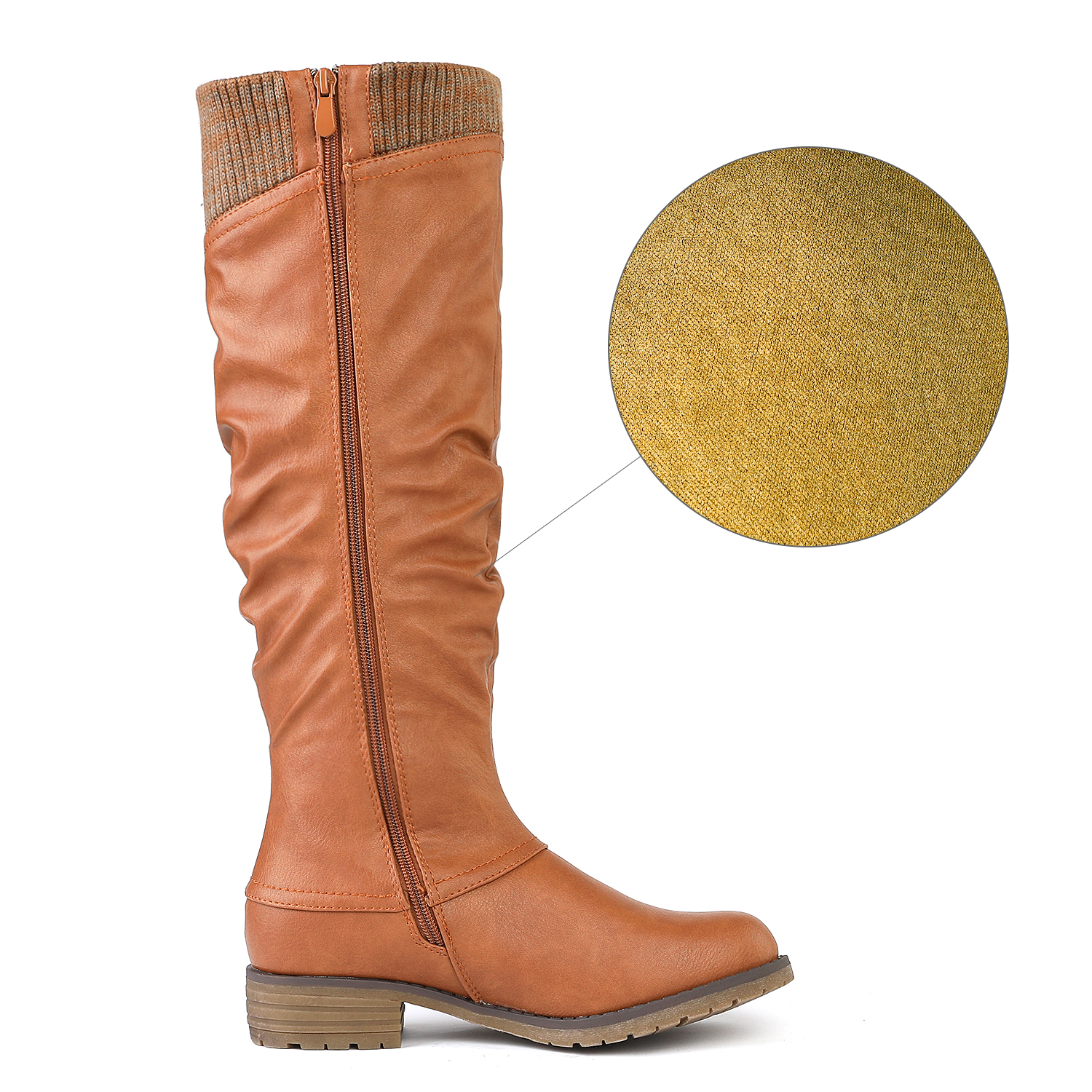 DREAM-PAIRS-Womens-DEPP-Cowgirl-Soft-PU-Leather-Combat-Knee-High-Riding-Boots thumbnail 21
