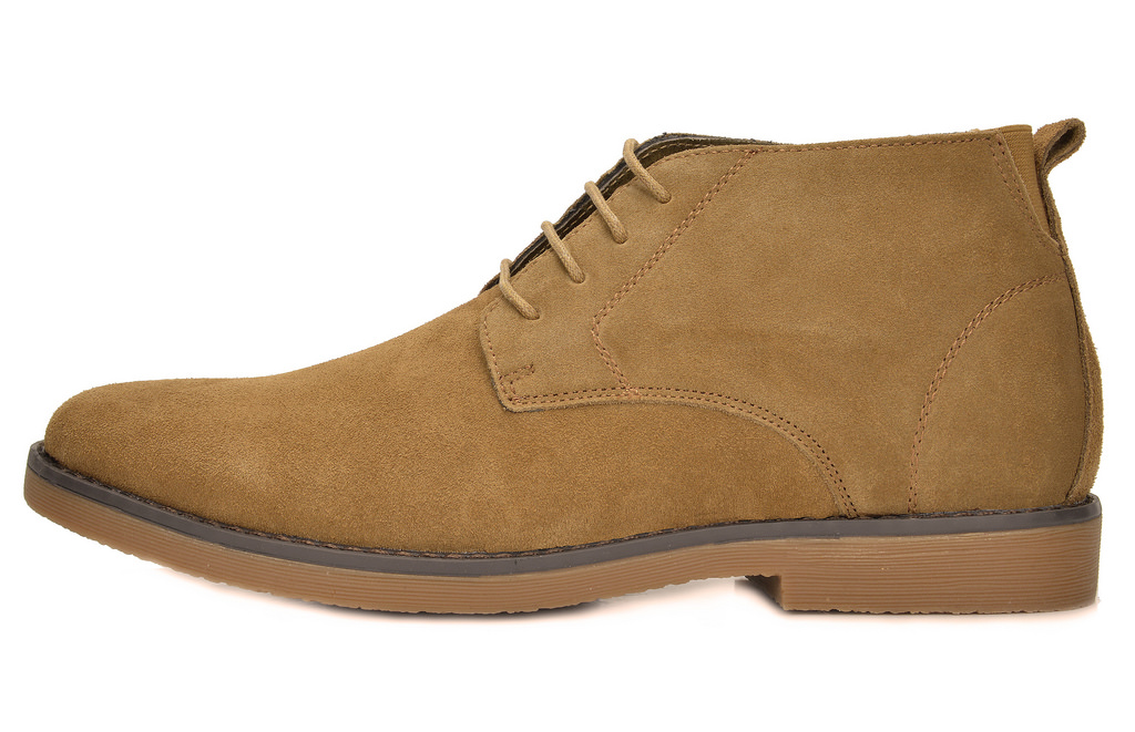 Bruno Marc Men's Suede Leather Lace Up