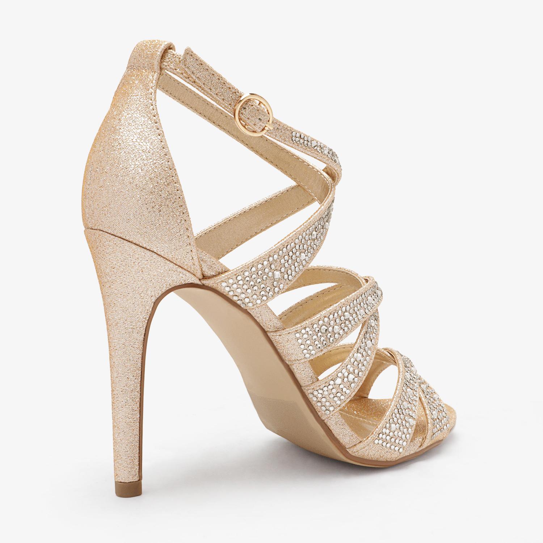 thumbnail 4 - DREAM PAIRS Women's Stilettos  High Heel Sandals Open Toe Dress Pump Sandals