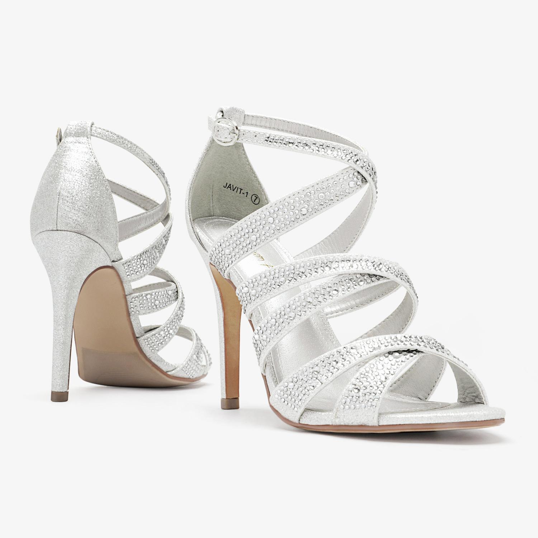 thumbnail 9 - DREAM PAIRS Women's Stilettos  High Heel Sandals Open Toe Dress Pump Sandals