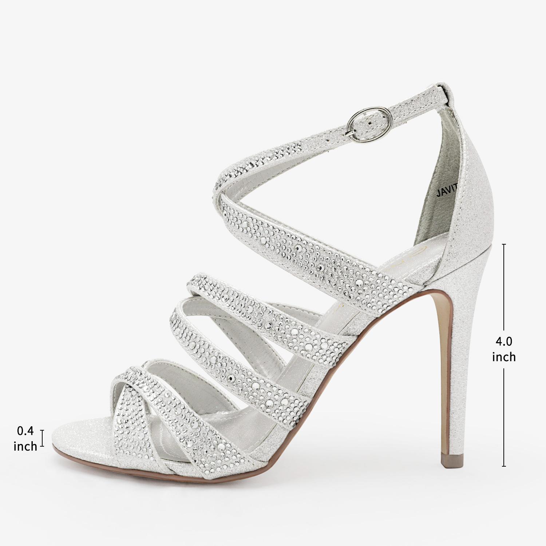 thumbnail 7 - DREAM PAIRS Women's Stilettos  High Heel Sandals Open Toe Dress Pump Sandals