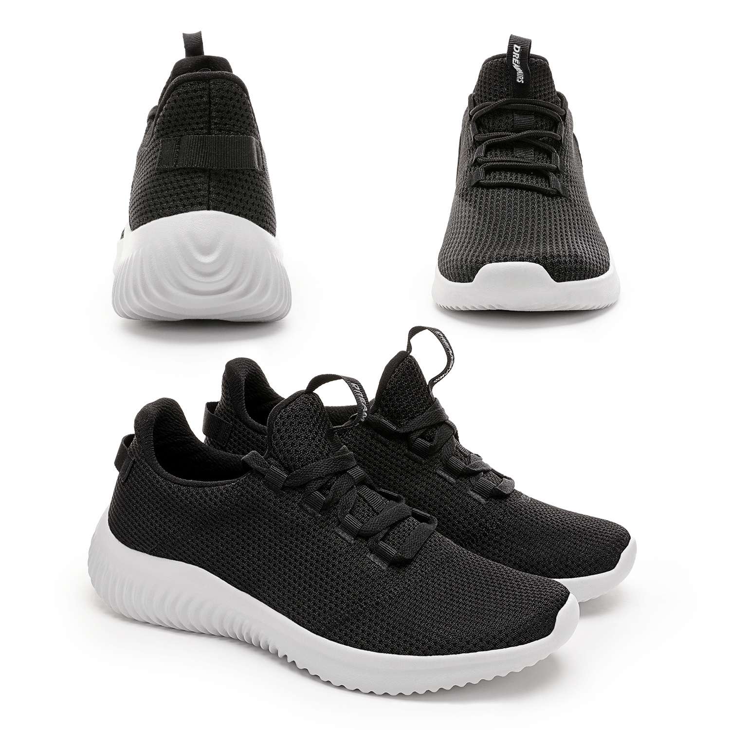 thumbnail 13 - Mens Running Shoes Lightweight Fashion Sneakers Comfort Walking Shoes