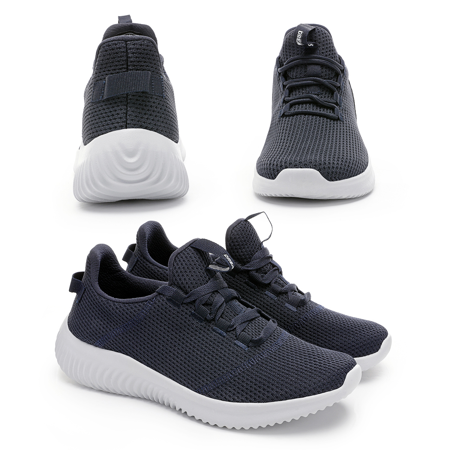 thumbnail 25 - Mens Running Shoes Lightweight Fashion Sneakers Comfort Walking Shoes