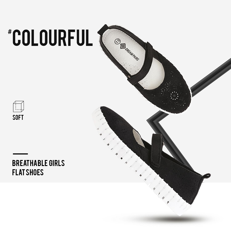 miniature 29 - Dream Paires Filles Plates Chaussures Robe Chaussures à Enfiler Ballerine Mocassins