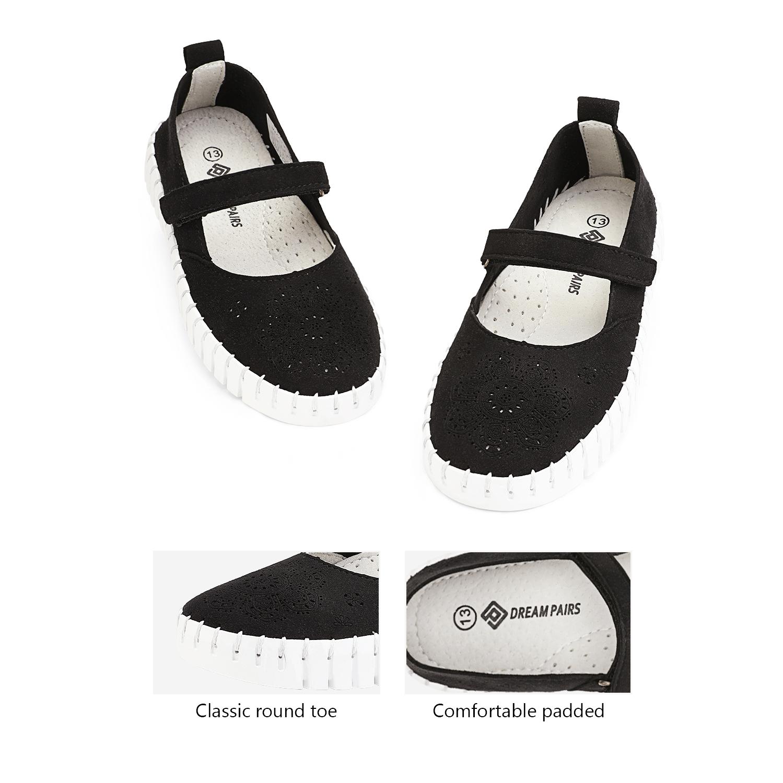 miniature 32 - Dream Paires Filles Plates Chaussures Robe Chaussures à Enfiler Ballerine Mocassins