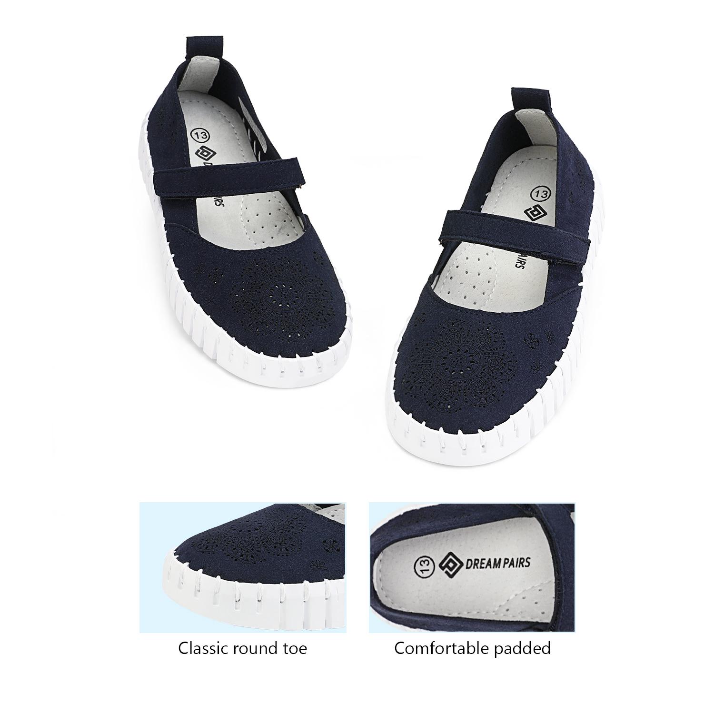 miniature 11 - Dream Paires Filles Plates Chaussures Robe Chaussures à Enfiler Ballerine Mocassins