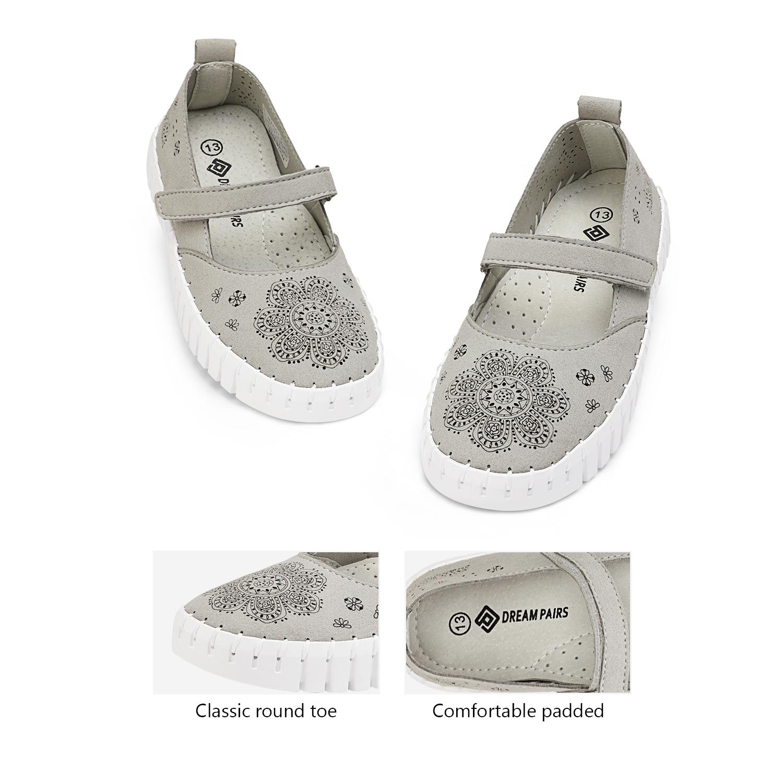 miniature 22 - Dream Paires Filles Plates Chaussures Robe Chaussures à Enfiler Ballerine Mocassins