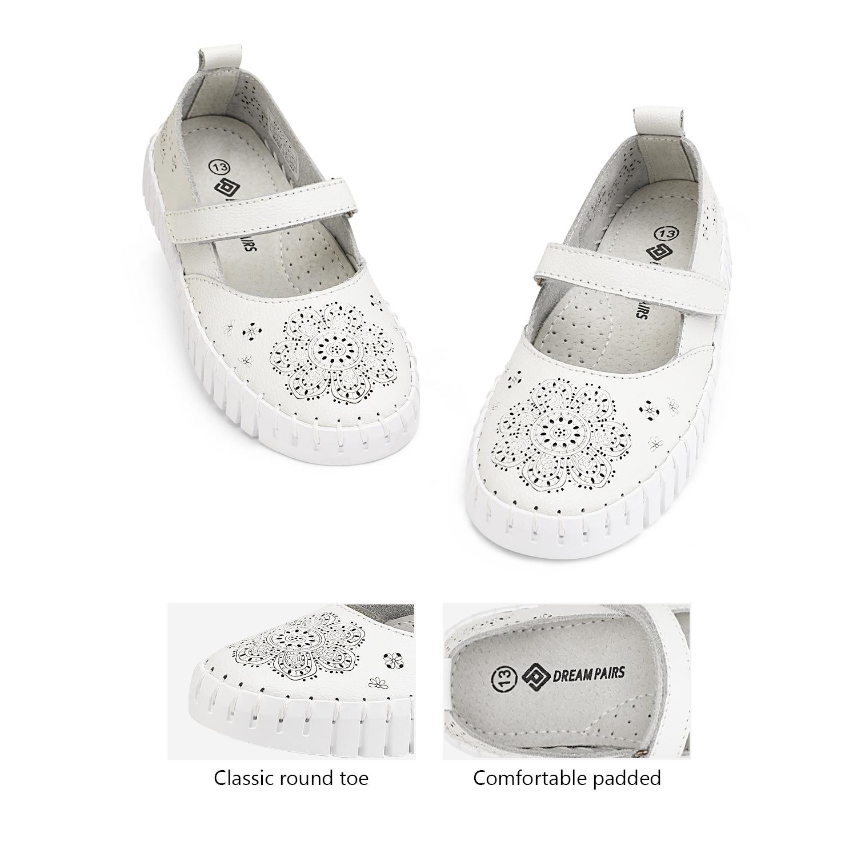 miniature 27 - Dream Paires Filles Plates Chaussures Robe Chaussures à Enfiler Ballerine Mocassins