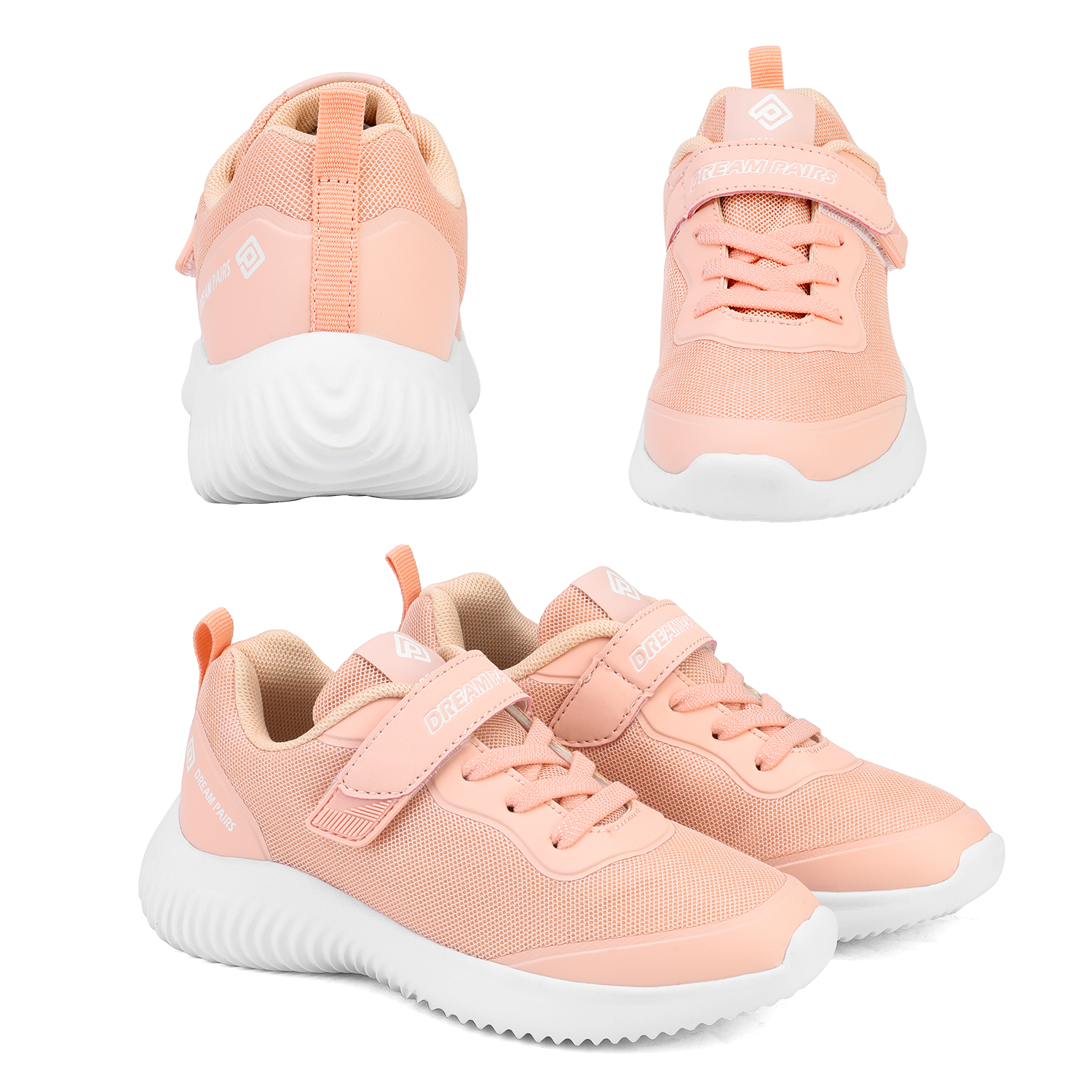 DREAM PAIRS Kids Sneakers Girls Boys Running Shoes Outdoor Indoor Athletic Shoes