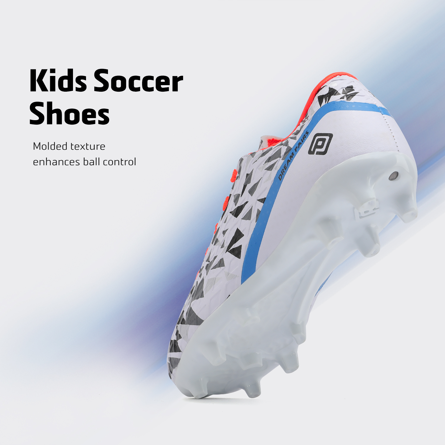 miniature 11 - Men's Kids Football Chaussures Crampons Football Indoor Sports Baskets Sneakers Fashion