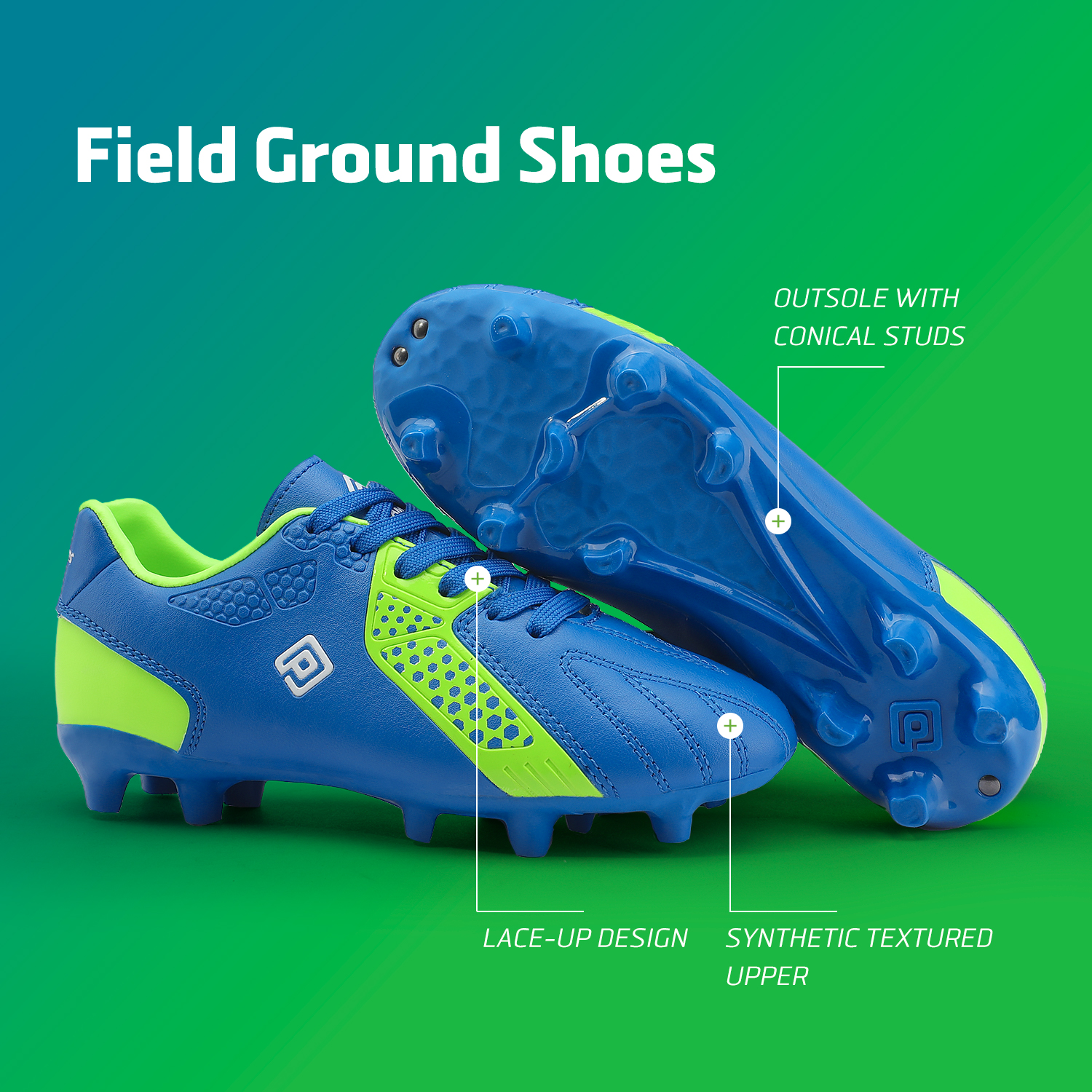 miniature 36 - Men's Kids Football Chaussures Crampons Football Indoor Sports Baskets Sneakers Fashion