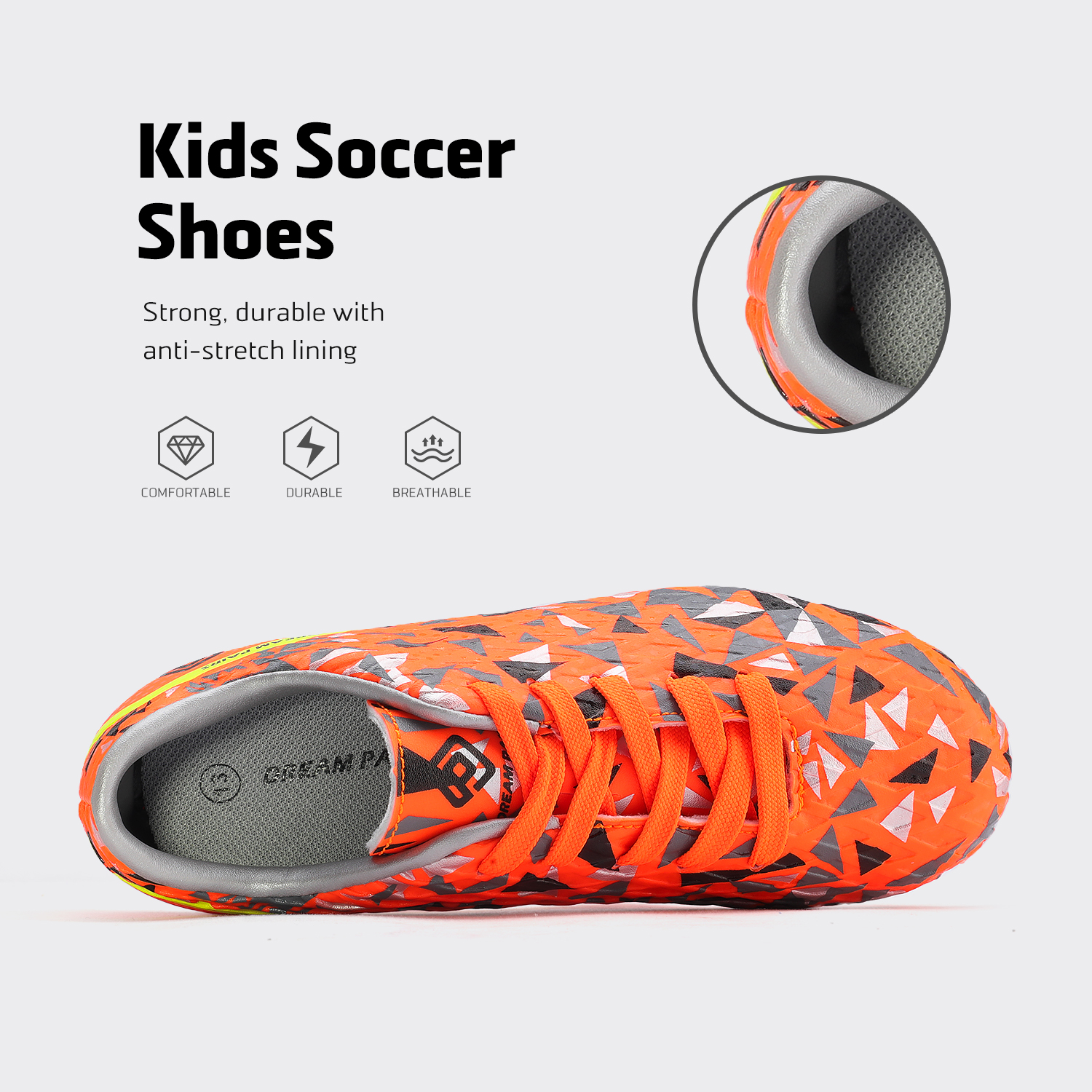 miniature 39 - Men's Kids Football Chaussures Crampons Football Indoor Sports Baskets Sneakers Fashion