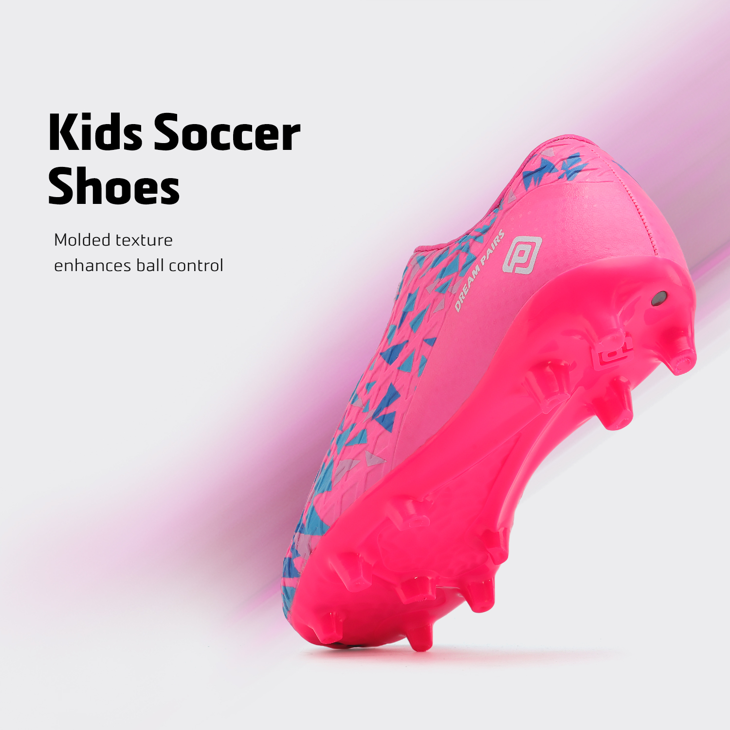 miniature 53 - Men's Kids Football Chaussures Crampons Football Indoor Sports Baskets Sneakers Fashion