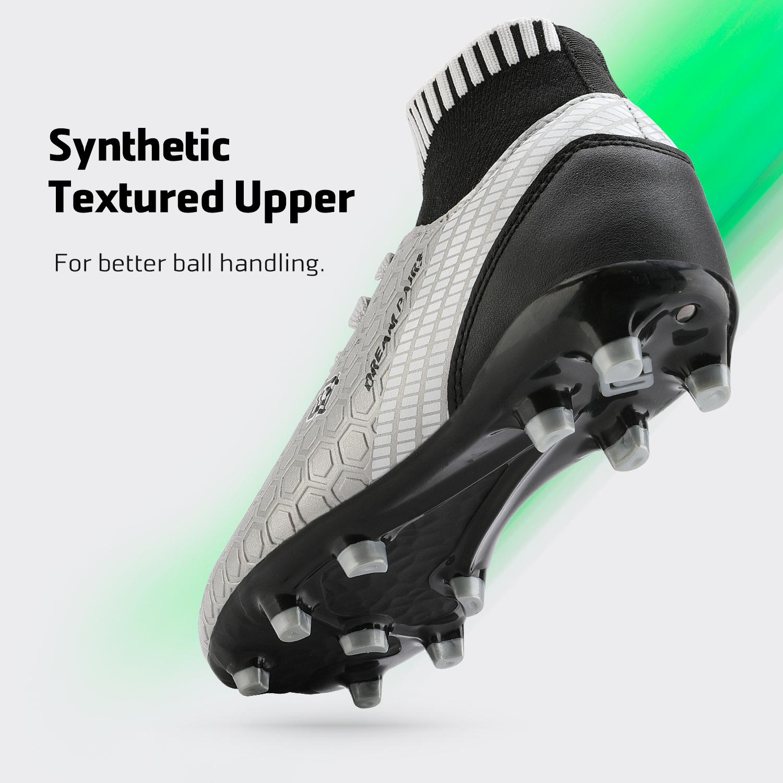 Dream-Paires-Garcons-Filles-Nouveau-Leger-HZ19007K-Football-Crampons-Soccer-Shoes miniature 10