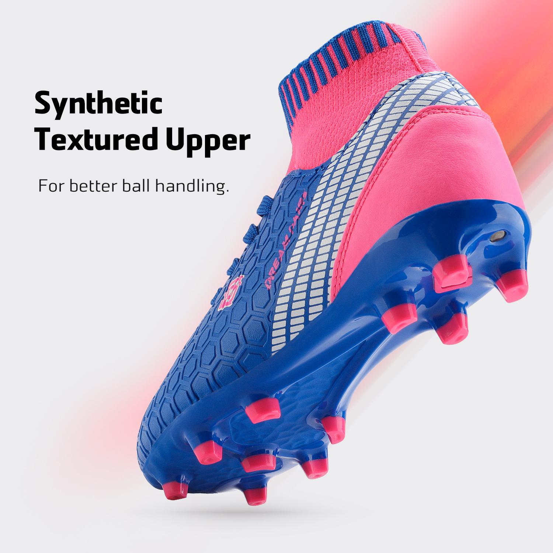 Dream-Paires-Garcons-Filles-Nouveau-Leger-HZ19007K-Football-Crampons-Soccer-Shoes miniature 16