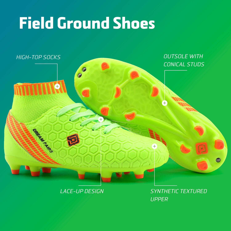 Dream-Paires-Garcons-Filles-Nouveau-Leger-HZ19007K-Football-Crampons-Soccer-Shoes miniature 30