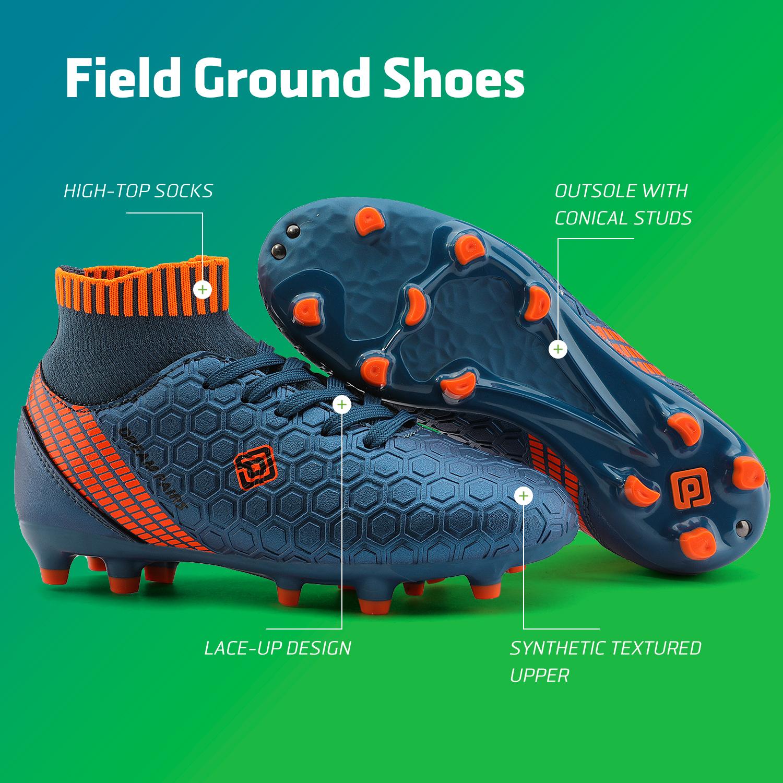 Dream-Paires-Garcons-Filles-Nouveau-Leger-HZ19007K-Football-Crampons-Soccer-Shoes miniature 36