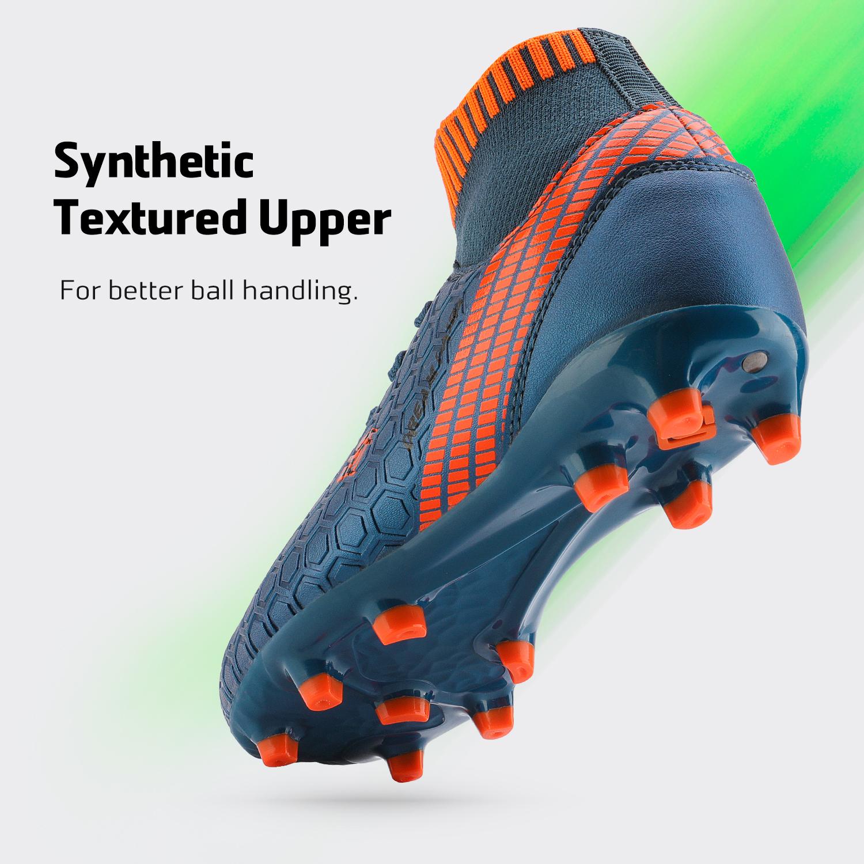 Dream-Paires-Garcons-Filles-Nouveau-Leger-HZ19007K-Football-Crampons-Soccer-Shoes miniature 34