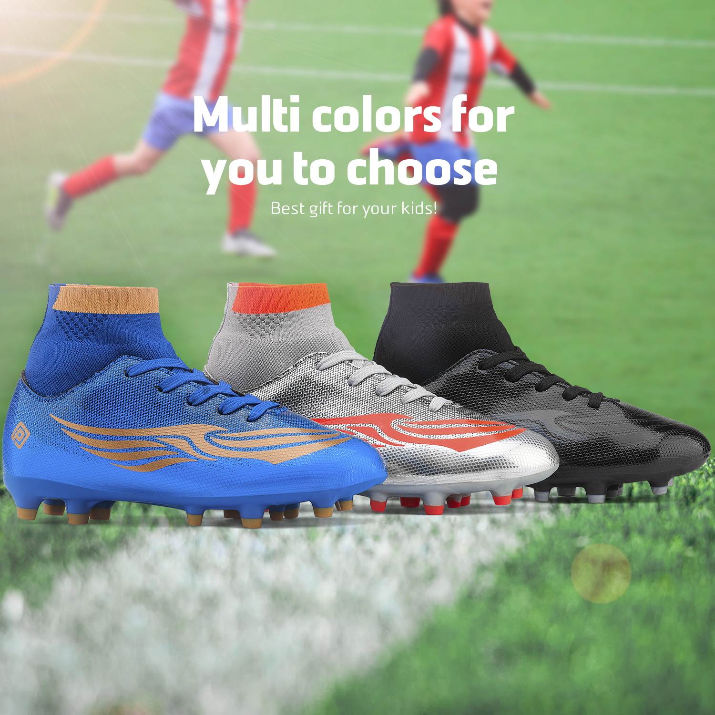 miniature 13 - Dream Paires Garçons Filles Soccer Football Crampons Chaussures (Bébé/Petit enfant/Big Kid)