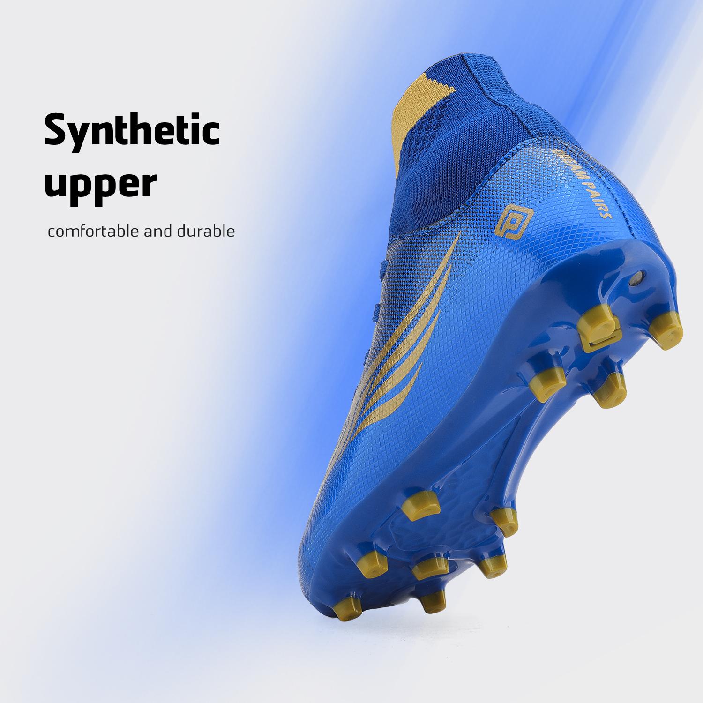 miniature 22 - Dream Paires Garçons Filles Soccer Football Crampons Chaussures (Bébé/Petit enfant/Big Kid)