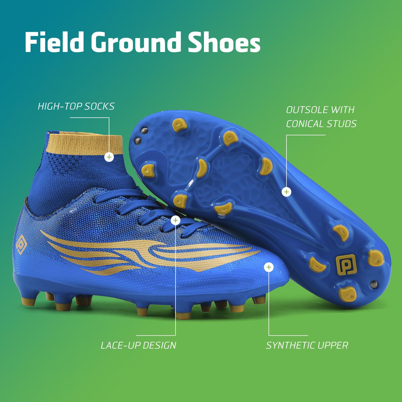 miniature 24 - Dream Paires Garçons Filles Soccer Football Crampons Chaussures (Bébé/Petit enfant/Big Kid)